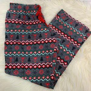 Wondershop holiday flannel sleep lounge pants